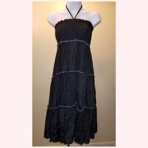 Annabelle Sleeveless Black Summer Dress.